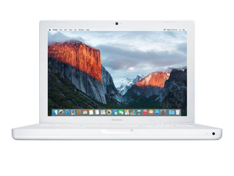 Medium wide macbook white